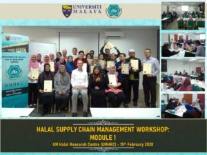 Halal SCM workshop at UM Halal Research Centre